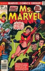Ms. Marvel Comics (1977 Series)