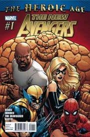 New Avengers #1 Bendis (2010) Marvel comic book