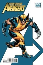 New Avengers #3 Stuart Immonen Retail Variant 1:75 Wolverine (2010) Marvel comic book