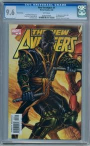 New Avengers #4 Jim Cheung Ronin Variant CGC 9.6 1st Appearance Maria Hill Marvel comic book