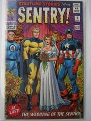 New Avengers #8 Sentry Retail Incentive Variant