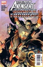 New Avengers Transformers #1-#4 Complete Set