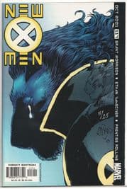 New X-Men #117 Signed Ethan Van Sciver Remarked Beast Sketch Jay Company COA Ltd 25 Marvel
