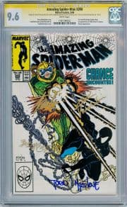 Amazing Spider-man #298 CGC 9.6 Signature Series Signed x4 Stan Lee Todd McFarlane 1st Eddie Brock