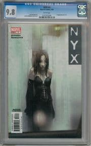 NYX #3 CGC 9.8 First Appearance X-23 Marvel comic book