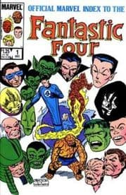 Official Marvel Index To The Fantastic Four