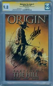 Origin #1 CGC 9.8 Signature Series Signed Stan Lee Joe Quesada Wolverine Marvel Comic