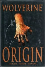 Origin Hardcover Dynamic Forces Signed Joe Quesada COA Ltd 30 DF Wolverine Marvel Comics book