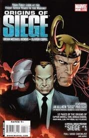Origins Of Siege (2009) Marvel comic book