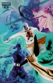 Project Superpowers #0 Alex Ross Negative Retail Incentive Variant 1:100 Dynamite Entertainment