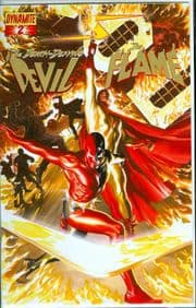 Project Superpowers #2 Gold Foil Variant Alex Ross COA Ltd 676 Dynamite Entertainment comic book