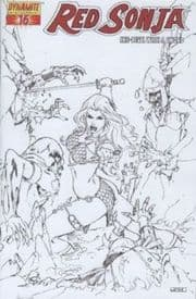 Red Sonja #16 Rubi Sketch Incentive Variant