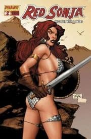 Red Sonja #2 Billy Tan Retail Incentive Variant Cover 1:25