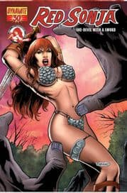 Red Sonja #30 Neves Cover
