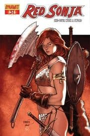 Red Sonja #31 Cover A Dynaminte Entertainment comic book