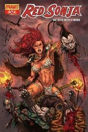 Red Sonja #32 Adriano Batista Cover 1:4 Dynamite Entertainment US Import
