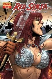 Red Sonja #34 Neves Cover 1:4 Dynamite Entertainment US Import