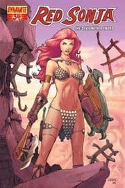 Red Sonja #34 Rubi Cover Dynamite Entertainment US Import