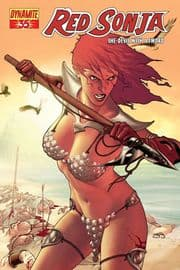 Red Sonja #35 Gold Foil Variant (2008) Dynamite Entertainment comic book