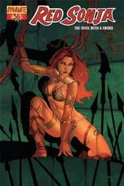 Red Sonja #36 Cover A Rubi (2008) Dynamite Entertainment comic book