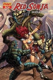 Red Sonja #37 Cover B Marcos 1:4 (2008) Dynamite Entertainment comic book