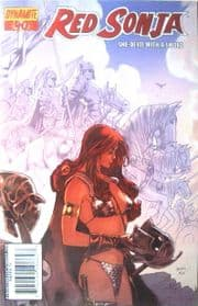Red Sonja #40 Foil Variant Cover (2008) Dynamite Entertainment comic book