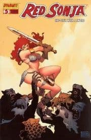Red Sonja #5 Eduardo Risso Cover