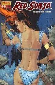 Red Sonja #6 Camuncoli 1:35 Red Foil Variant