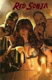 Red Sonja #7 Adam Hughes Red Foil Virgin Variant Dynamite Entertainment comic book