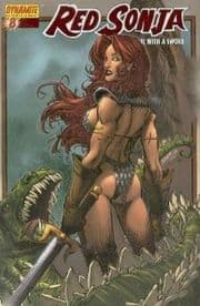 Red Sonja #8 Brandon Peterson Dynamic Forces Exclusive DFE Red Foil COA