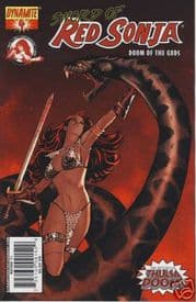 Red Sonja Doom of the Gods #4 Cover A