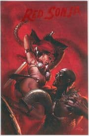 Red Sonja vs. Thulsa Doom #1 Dell'Otto Red Foil Virgin Variant Dynamite comic book