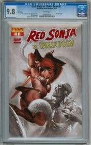 Red Sonja vs. Thulsa Doom #1 Dell'Otto RRP Variant 1:100 CGC 9.8 Dynamite Entertainment comic book