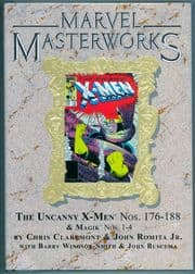 Marvel Masterworks #241 Uncanny X-Men Volume 10 Direct Market Gold Foil Variant Cover Hardcover