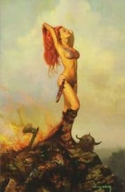 Savage Tales #1 Arthur Suydam Virgin Retail Incentive Variant Red Sonja Dynamite