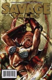 Savage Tales #3 Gold Foil Variant COA Ltd 225 Red Sonja