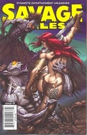 Savage Tales #9 (2008) Dynamite Entertainment comic book