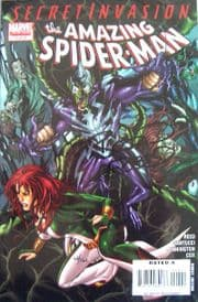 Secret Invasion Amazing Spider-man #1 Dynamic Forces Signed Brian Reed DF COA Marvel comic book