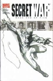 Secret War #1 Dell'Otto Spider-man Sketch Variant Marvel comic book