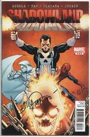 Shadowland #3 Dynamic Forces Signed Billy Tan DF COA Moon Knight Marvel comic