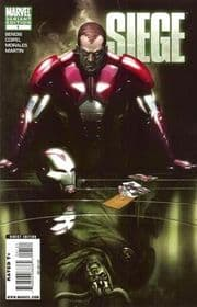 Siege #1 Retail Variant 1:25 (2010) Marvel comic book