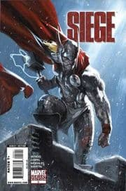 Siege #2 Dell'Otto Thor Retail Variant 1:25 (2010) Marvel comic book