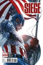 Siege #3 Retail Variant 1:25 (2010) Marvel comic book