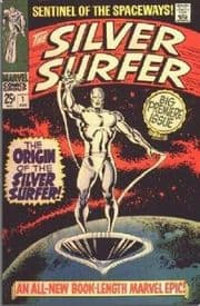 Silver Surfer Comics (1968 Series)