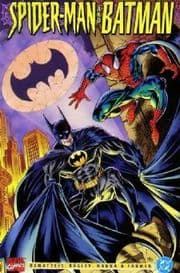 Spider-man And Batman Graphic Novel (1995) Marvel DC comic book