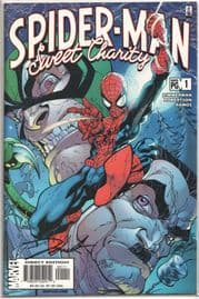 Spider-man Sweet Charity #1 Dynamic Forces Signed Darick Robertson DF Campbell Marvel