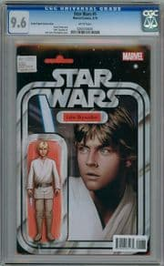 Star Wars #1 Christopher Action Figure Variant (2015) CGC 9.6 Marvel comic book