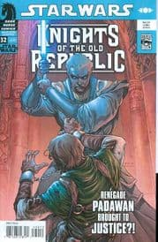 Star Wars Knights of the Old Republic #32 (2008) Dark Horse comic book