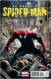 Superior Spider-man #1 Giuseppe Camuncoli Retail Variant 1:50 (2013) Marvel comic book
