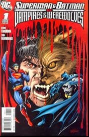 Superman Batman Vs. Vampires And Werewolves #1 (2008) DC comic book